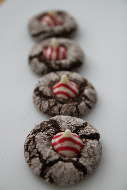 Scratch Made Mint Chocolate Crinkle Cookies Bran Appetit