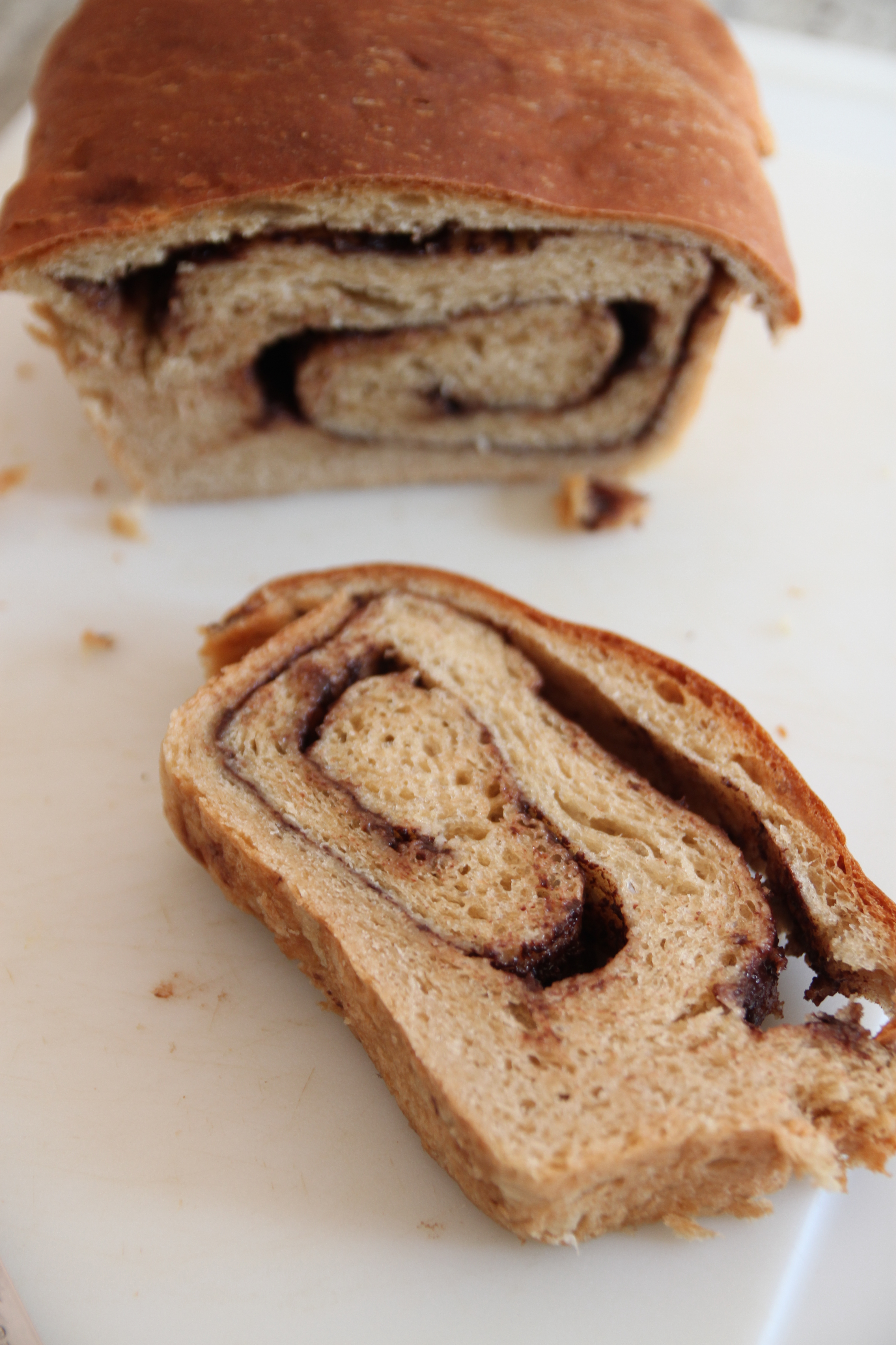 Nutella Swirled Bread | Cooking and Recipes