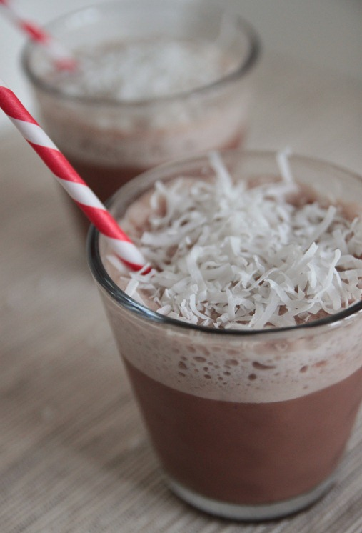 Skinny Coconut Frozen Hot Chocolate | Cooking and Recipes