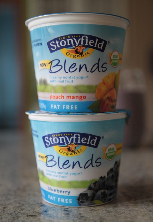 stonyfield blends yogurt