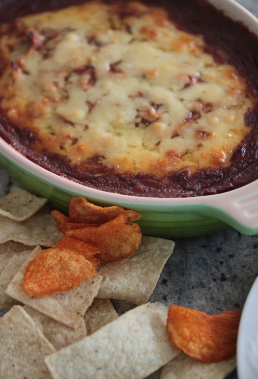 sweet and spicy bbq chicken dip1