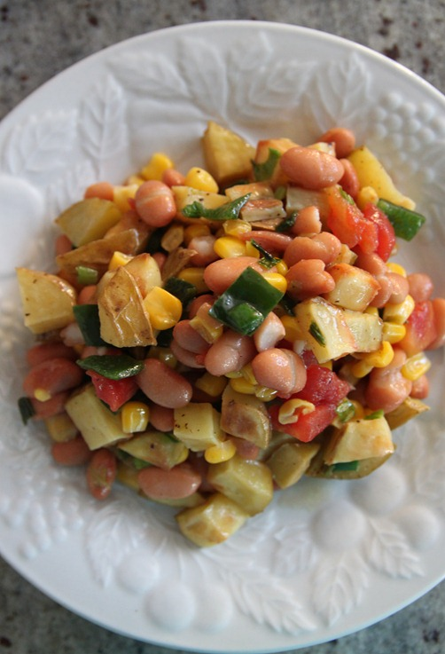 southwest roasted potato salad 5