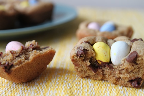 easter egg cookie cups 1