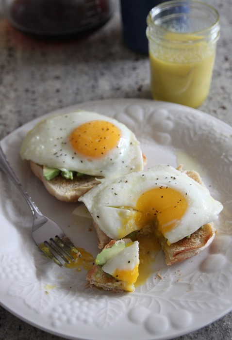 egg avocado toast 3
