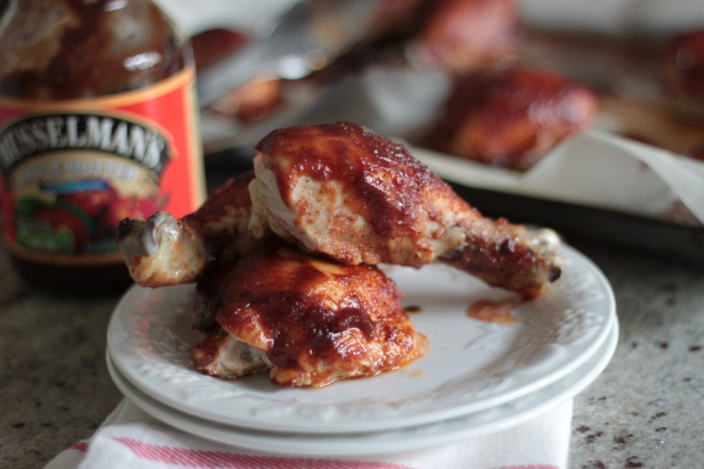 apple butter bbq chicken 1