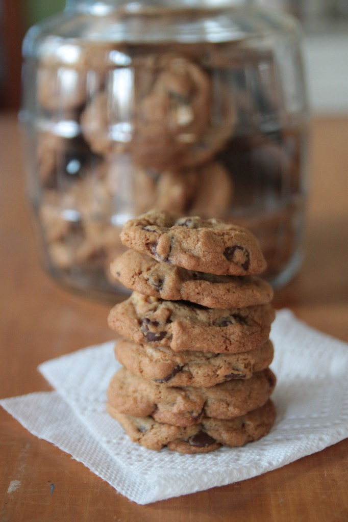 salted chocolate chip pecan cookies 3
