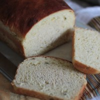 green onion potato bread