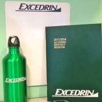 Excedrin Giveaway Items 2