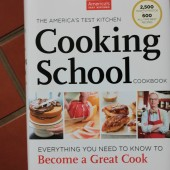 Americas Test Kitchen cookbook