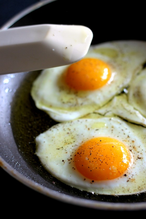 My first thing to make using this book? Perfect fried eggs. Their ...