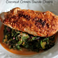 thai chicken coconut cream chard 2