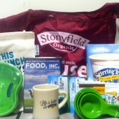 stonyfield prize pack