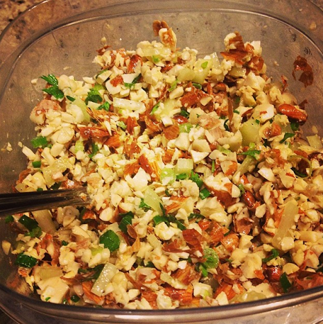 almond tuna salad