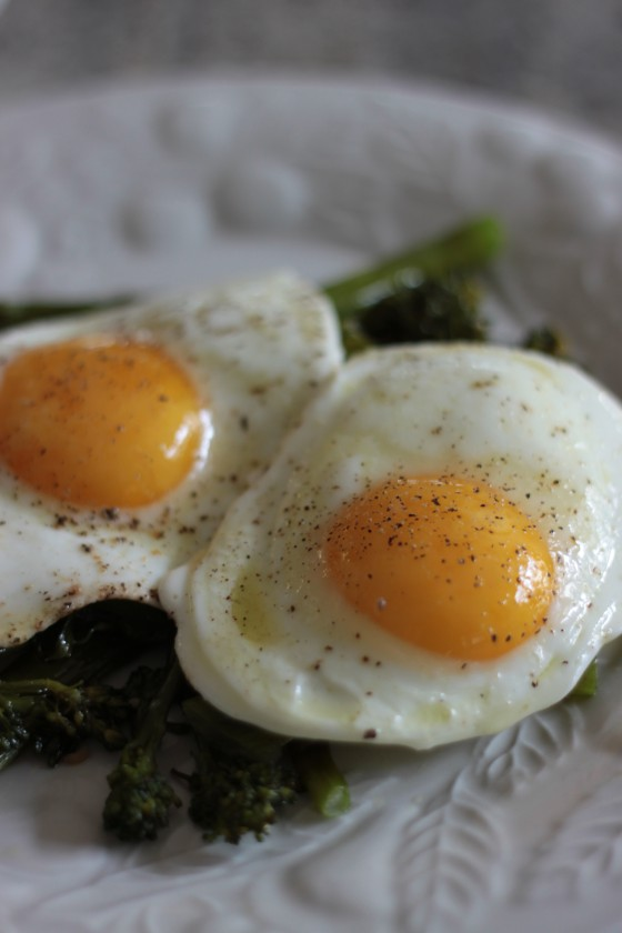 Perfect Sunny-Side Up Eggs Recipe — Dishmaps