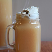 citrus cider punch floats