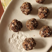 coconut oatmeal raisin bites