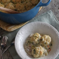 green chile turkey and dumplings