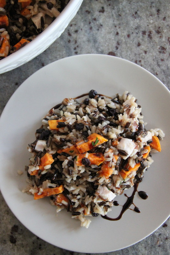 turkey rice salad recipe dishmaps turkey wild rice salad smoked turkey ...